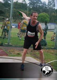 Captain Mark on the discus